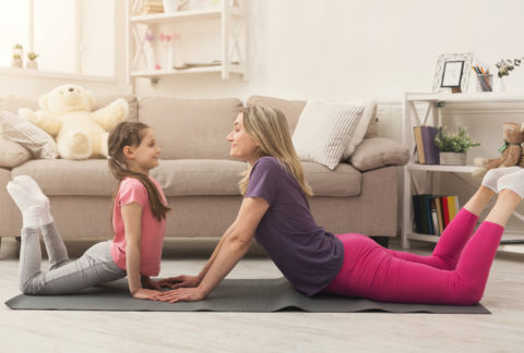 Parents and Kids Yoga