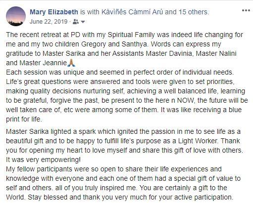 Mary testimonial PD